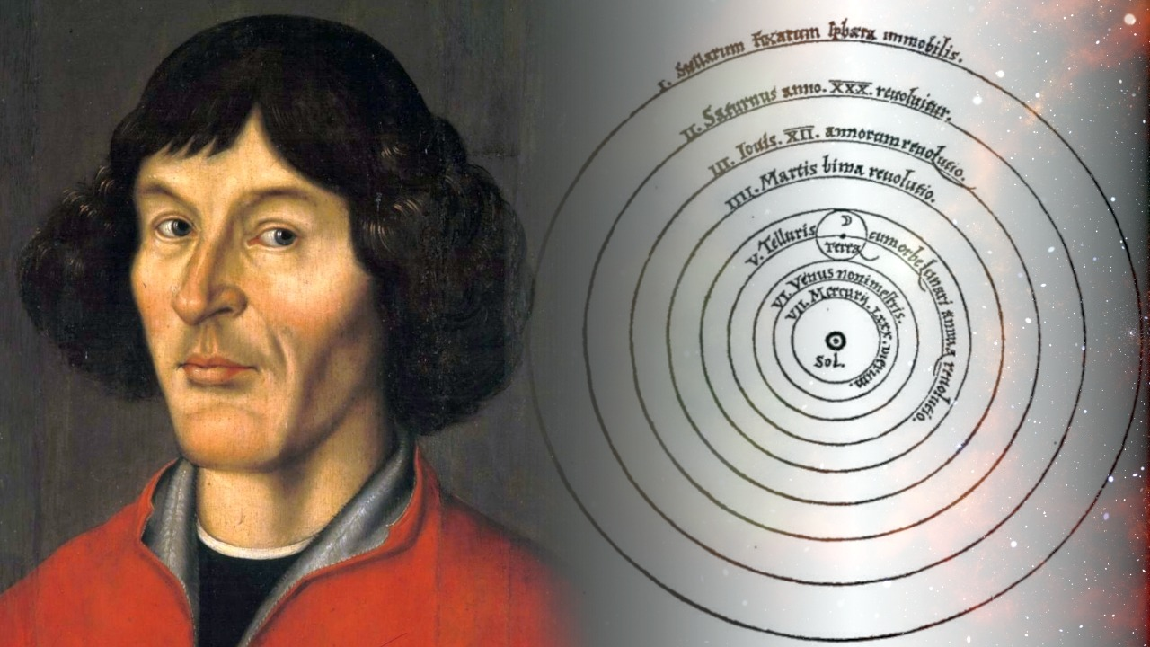 Image of Copernican heliocentric model