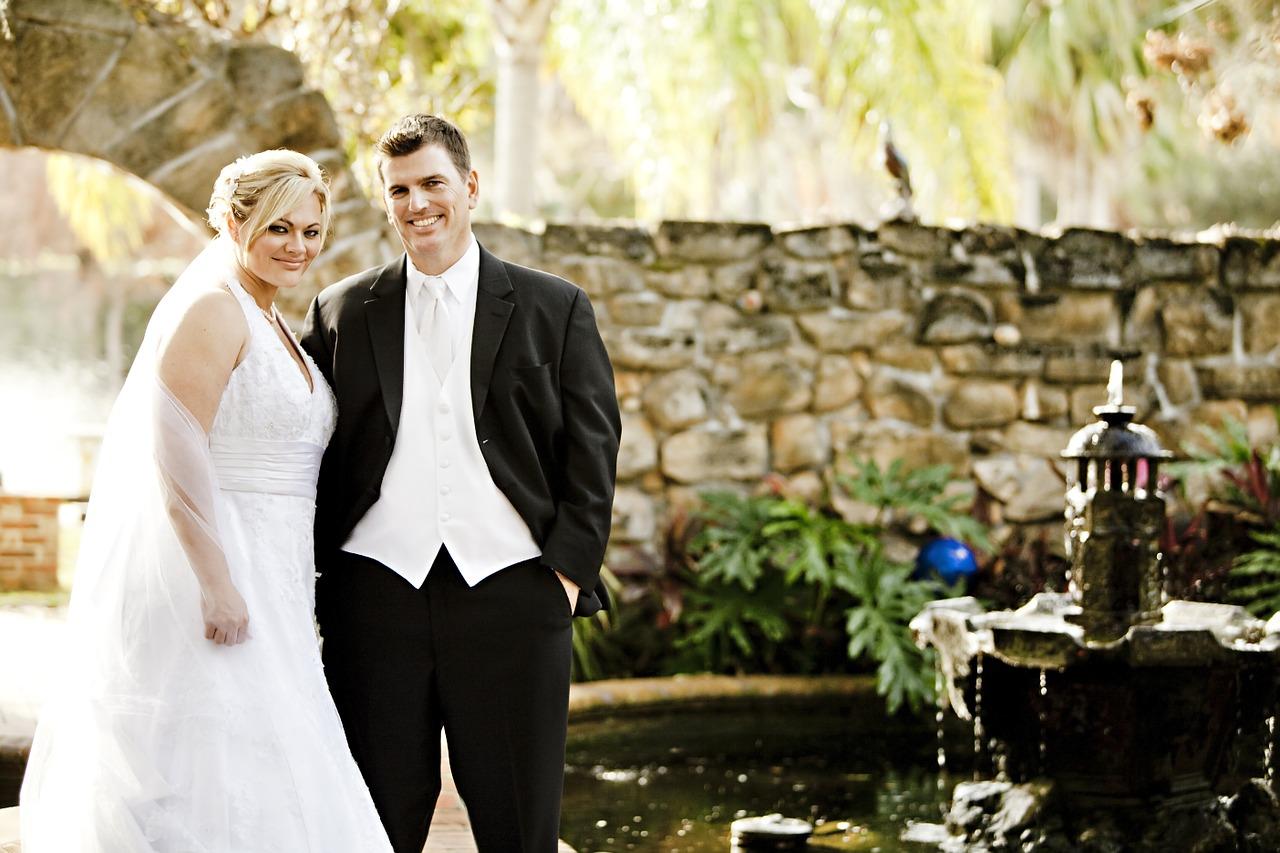 花婿と花嫁。Ginger Palmisano の写真。