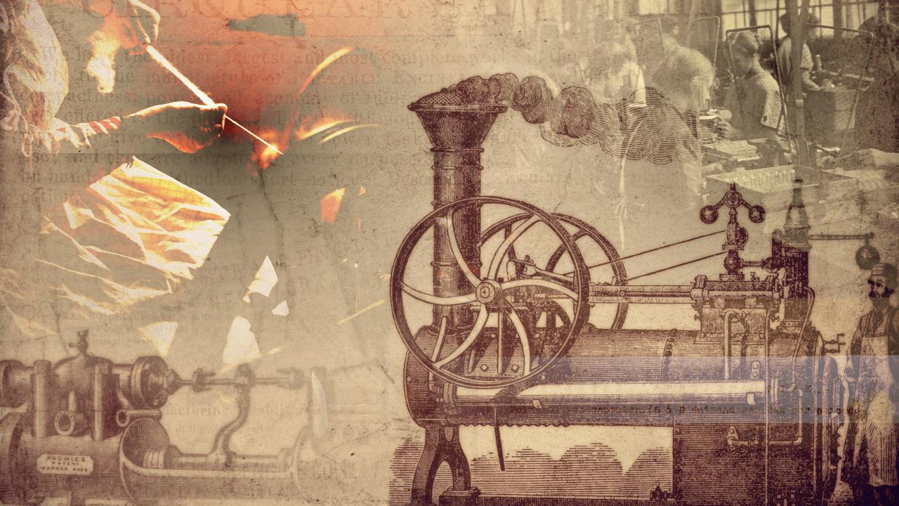 産業革命のイメージ画像